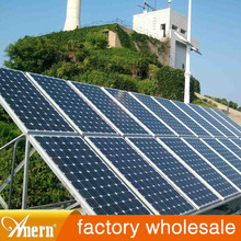 High conversion efficiency CE solar system 500w with battery