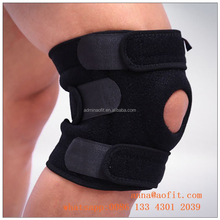 Breathable Neoprene Knee Brace and Support,Open Knee Protector Wrap and Relieves Pain Symptoms
