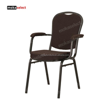 danish barcelona classic armrest vintage dining chair for sale