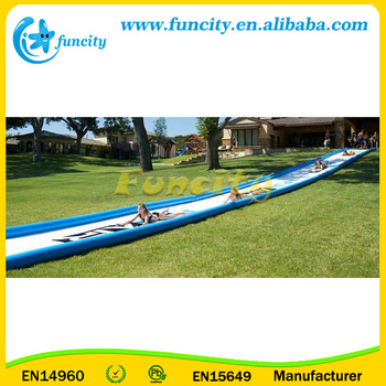 Massive Inflatable Slip and Slide / Super Sweet Slide In Customized Size