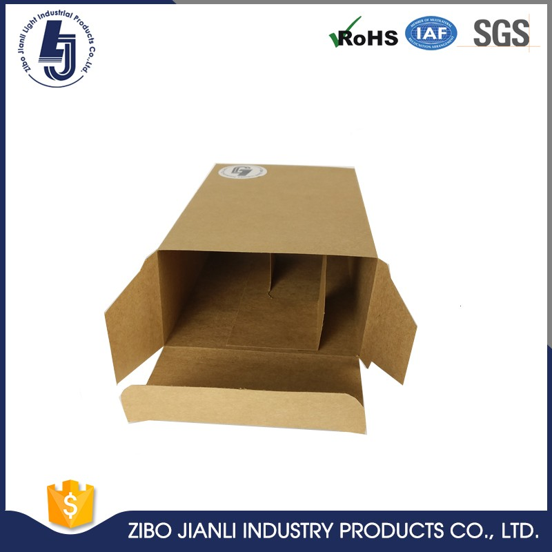 promotional paper box with velcro closure with handle