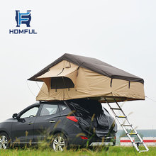 Homful customized easy set up portable folding car cover tent roof top tent for hiking camping