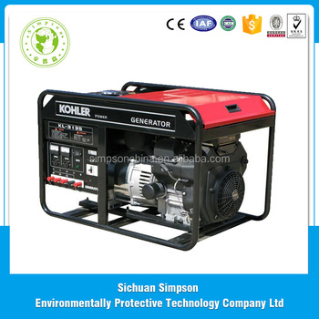 Low Fuel Consumption High Efficiency Big Power Compact portable 230v Gasoline Generators