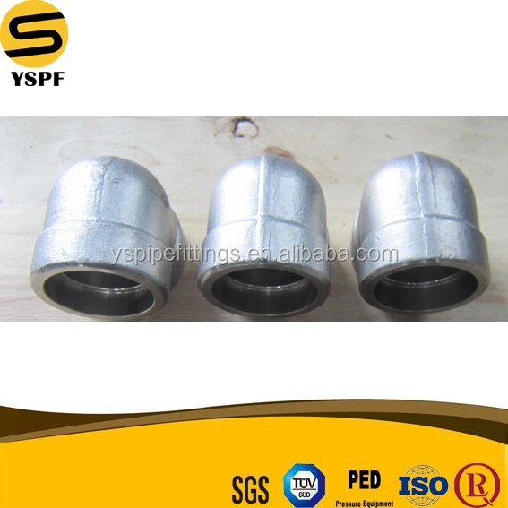 forged steel socket weld Elbow fittings dimensions