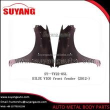 Replacing front fender for Toyota hilux vigo auto body parts