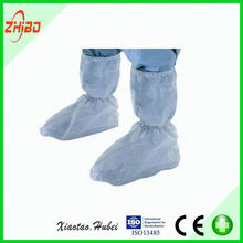 Disposable PP Boot Cover with tie