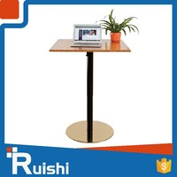 Imported gas spring metal base bedside table or coffe table