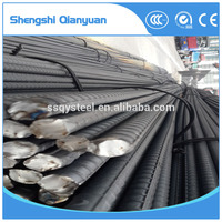High Quality Hot Rolled HRB400 Deformed Steel Rebar / Reinforced Concrete Iron Rod