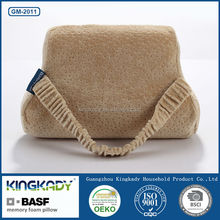 Travel chair neck support car seat memory foam seat cushion