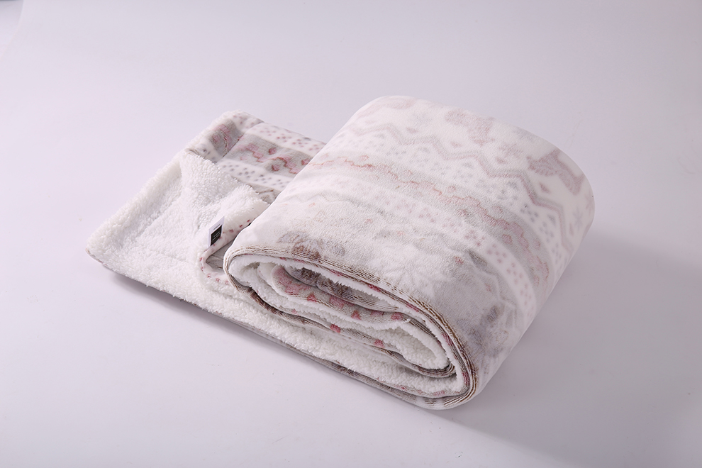 mora spain printing fleece urquoise bed throw blanket