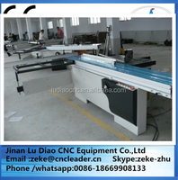 High precise 45 degree sliding panel saw cutter ,saw machine