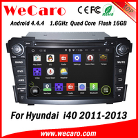Wecaro WC-HI7029 Android 4.4.4 car dvd player touch screen for hyundai i40 car gps navigation system WIFI 3G mirror link
