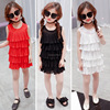 Korean style dress chiffon sleeveless girls' dress pinafore dress