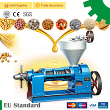 Small screw type soybean peanut groundnut corn hemp sunflower grape seed coconut oil press machine