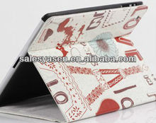 For ipad mini magnetic leather case with Paypal