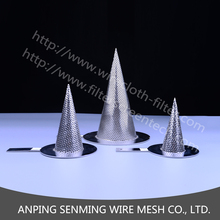 High quality wire mesh filter screen made fabricated temporary pipeline cone strainers/conical strainers/temporary strainers
