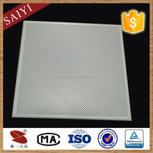 Acoustical Perforated Suspended False Acrylic Ceiling Tile