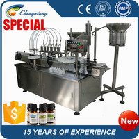 Automatic palm oil filling machine, antibiotic bottle filling machine (CE Certificate)