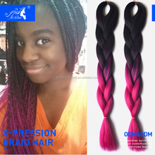 expression synthetic hair on weft , expression braiding attachment , expression braiding hair most popular