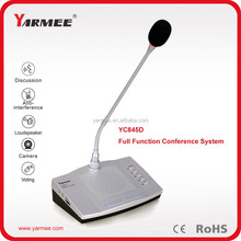 Good quality mic video conference equipment for meeting to discuss voting