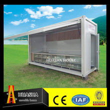 20ft prefab folding container portable coffee shop