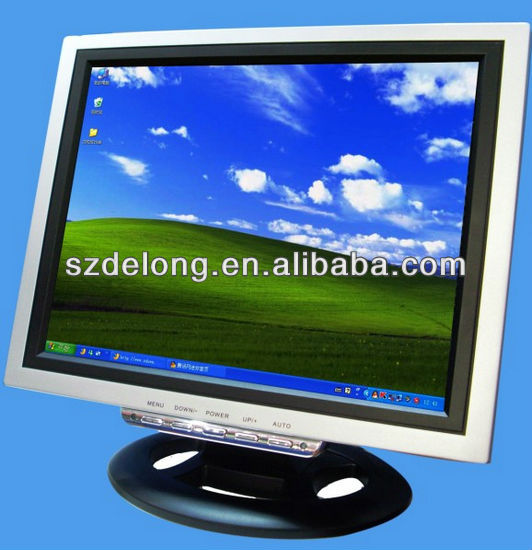 "12""open frame touchscreen Tablet pos pc with VGA TFT-LCD PANEL"