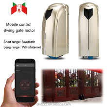 app control smart phone control automatic wheel swing gate opener
