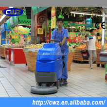 CWZ brand automatic walk behind commerical floor washing machine