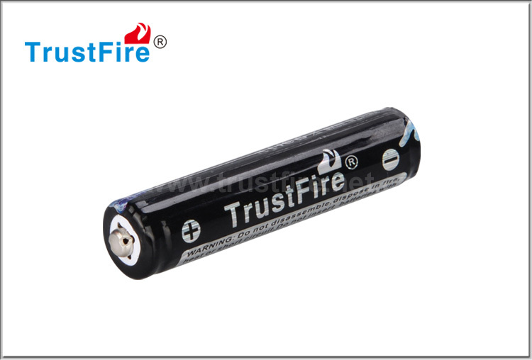 Trustfire original 10440 600mah rechargeable with PCB battery, Nipple Li-Ion rechargeable Battery 10440 3.7v lithium battery