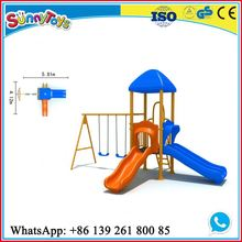 Guangzhou manufacturer kids rubber-coating outdoor playground equipment small ST.KS047