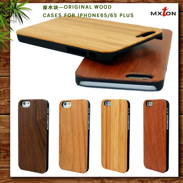 Original Fashion Handmade Wood Phone Case Real Wood + PC Mobile Phone Accessories Case for iPhone 5/5s/5c Phone Case