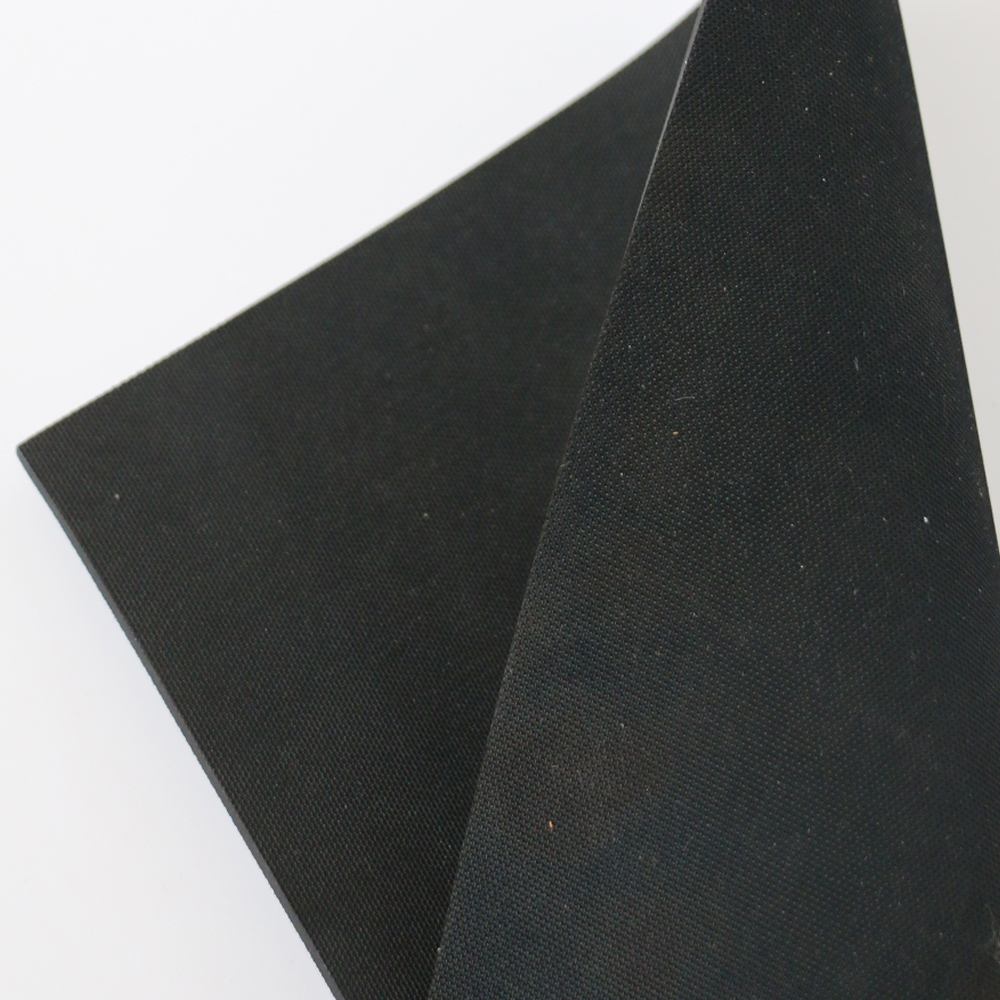 Fabric surface high temperature resistant ozone resistant Hypalon rubber sheet