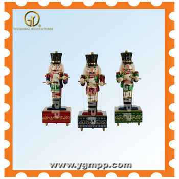 Sell YGM-NTK1302 Wooden Nutcracker With Customized Logo Printing