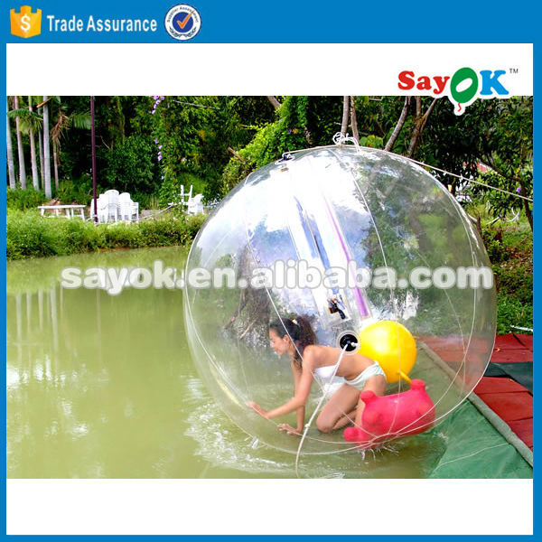 Water tank ball float valves walk on water inflatable ball