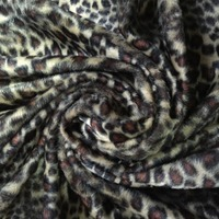 leopard print fabric for making shoes,lining fabric