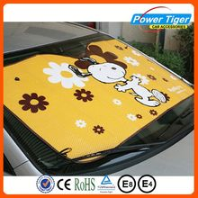 Advertising custom printed car sun shades