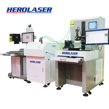high speed spectrophotometer double work station fibre laser welding machine for metal