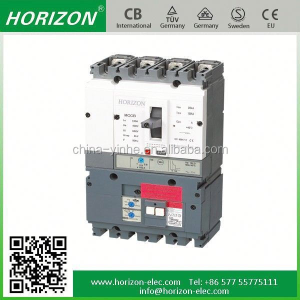 YHM3 nf cs 4p 250a mccb moulded case circuit breaker