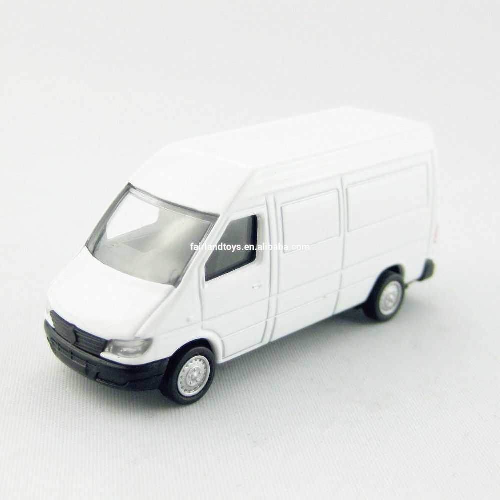 YL12273G diecast metal model vehicle van toy, 1:64 mini custom van model