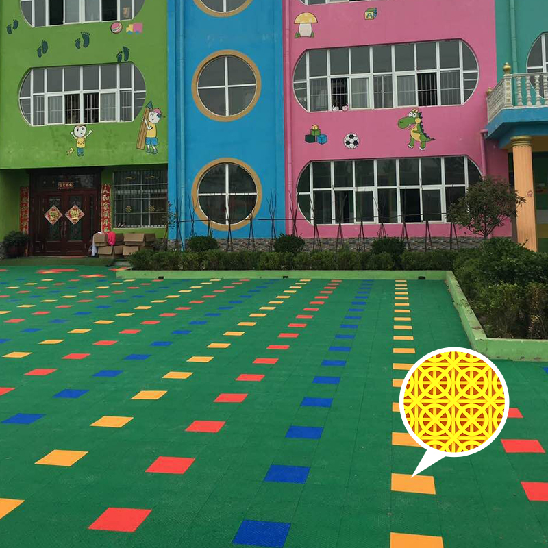 Good quality synthetic basketball court flooring picture
