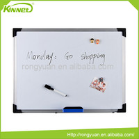 Professional manufacture magnetic sheet MDF board backing whiteboard with metal frame