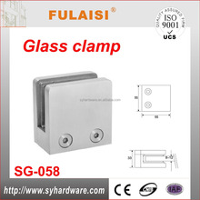 Glass Partition Clamp/door & window glass clamp