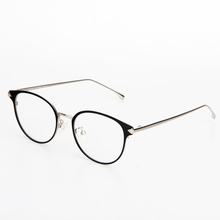 Glazzy round metal frame reading glasses PC lens high quality thin optics reading glasses