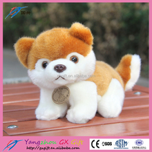 China customized big head dog plush stuffed toys