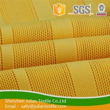 Quick dry custom printed polyester wholesale strip athletic knit china stretch twill fabric