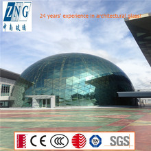 043 Building solar control glass dome with CE & CCC certificate