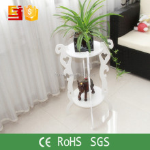 Balcony graceful decoration Flower Pot Rack round floor standing Flower Shelf