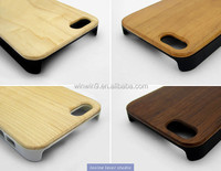 Best price for nature wooden phone case, bamboo