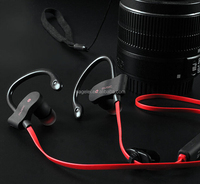 Sweatproof Wireless Bluetooth Earphone in ear Sport Stereo headset handfree with Microphone for phone computer outdoor