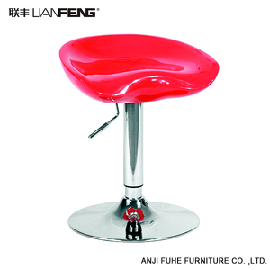 LIANFENG 2018 Wholesale high quality Modern Style Bar Stool Leather Swivel High Bar Stool Chair